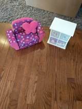 Fits American girl target brand Chair dresser in Bolingbrook, Illinois