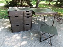 USGI Field Desk w/Folding Stool in San Antonio, Texas