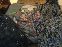 Boys size 10/12 pj's Plants vs Zombies in Ramstein, Germany