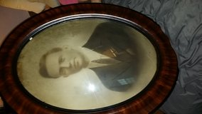 Antique Frame & Picture with Dome glass in Fort Knox, Kentucky