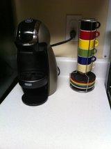 Nescafe Doce Gusto Coffee Maker with Cups in Fort Campbell, Kentucky