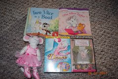 angelina-the-ballerina-doll-3-dvd-1cd-ultimate-dance-collection-books-dvd     angelina-the-bal in Joliet, Illinois