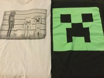 Boys size 6/8 Minecraft Shirts in Ramstein, Germany