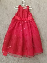 Girls red dress in Plainfield, Illinois