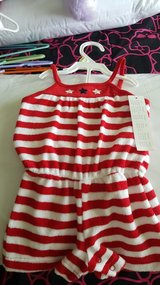 Terry romper 3-6months new in Joliet, Illinois