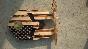 custom flag plaques and furniture in San Clemente, California