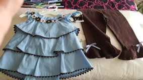 2 piece outfit with headpiece new in Joliet, Illinois