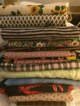 Quilters stash in Yucca Valley, California
