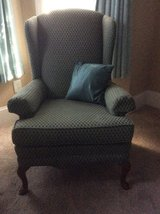 Highback wing chair in Byron, Georgia