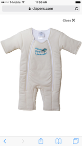 Baby Merlin's Magic SleepSuit 6-9 months in Fairfield, California