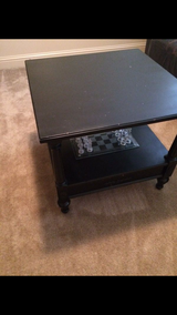 Black coffee table in San Clemente, California