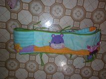 FISHER PRICE BUMPER PAD FITTED CRIB SHEET AND BEDSKIRT SET in Fort Hood, Texas