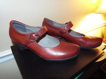 Red Leather Mary Janes (ABEO B.I.O System) *Like New!* in Camp Lejeune, North Carolina