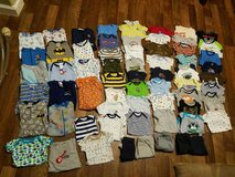 Baby boy clothing lot in Barstow, California