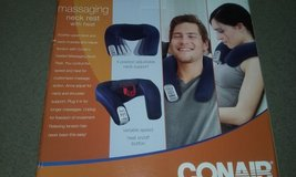 Heated/Massaging Neck Pillow in Beaufort, South Carolina