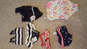 Lot of Baby Girl 12-18 month GAP, circo, little me swimsuits in Bartlett, Illinois