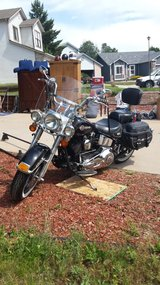 Heritage Softail Classic 2002 in Colorado Springs, Colorado