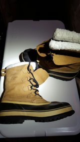 Men's size 13 Sorel Caribou snow boots- winter is coming in Watertown, New York
