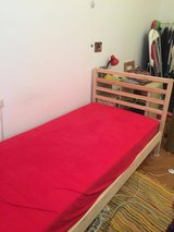 IKEA 'Tarva' bed frame and 'Morgedal' mattress - like new in Stuttgart, GE