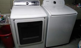 Samsung washer and steam dryer in Pensacola, Florida