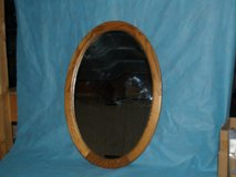 Oval Oak Mirror in Tinley Park, Illinois