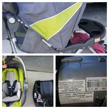 Jogging Stroller w/ car seat in Hemet, California
