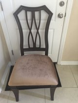 6 dinning room chairs (never been used) in Saint Petersburg, Florida