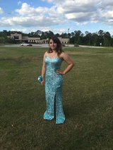 Blue prom dress in bookoo, US