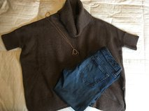 Old Navy Brown Poncho Sweater in Bolling AFB, DC