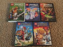 Lego Ninjago and Chima DVDs in Byron, Georgia