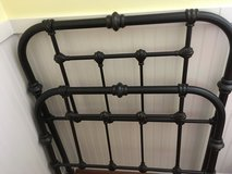 Restoration Hardware twin bed frame in Conroe, Texas