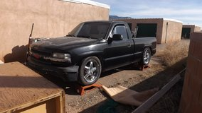 chevy truck lowered in Alamogordo, New Mexico
