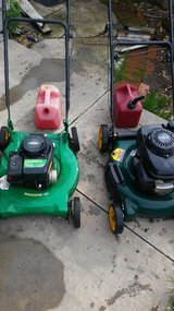 Lawn mowers in Vacaville, California