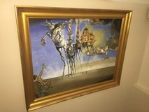 """Reproduction of """"The Temptation of Saint Anthony"""" by Salvador Dali in Okinawa, Japan"""