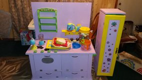 Homemade Kitchen Playset in Baytown, Texas