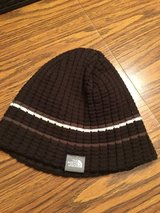 The North Face Men's Knit Hat - Brown with detail in Westmont, Illinois