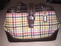 Authentic Coach houndstooth tattersall handbag in Naperville, Illinois