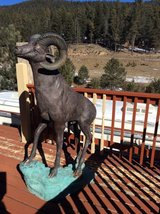 One Of A Kind 65in Tall Rocky Mountain Bighorn Sheep Ram in Alamogordo, New Mexico
