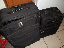 Black Luggage in Alamogordo, New Mexico