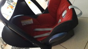 Car seat in Spangdahlem, Germany