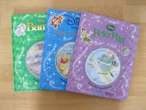 3 German Books With Cd, Bambi, Winnie Puuh, Peter Pan in Ramstein, Germany