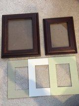 Pottery Barn Picture frames 8x10 and 5x7 in Naperville, Illinois