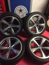 BMW 19 inch (OEM) BMW rims with tires in Stuttgart, GE