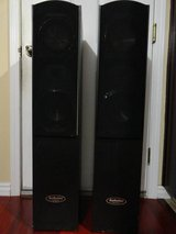AUDIOLINE AH2004 TALL SKINNY TOWER FLOOR STANDING SPEAKERS in Travis AFB, California