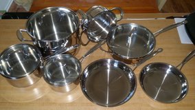 Cuisinart classic chef stainless 11 piece set in DeRidder, Louisiana
