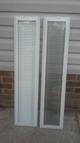 """8"""" x 36"""" Add on sidelights with glass enclosed blinds in Camp Lejeune, North Carolina"""