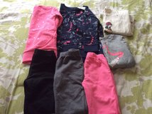 Gap xs4/5  3 pairs leggings and 2 tops and 2 sweatshirts 2 still have tags on in Oswego, New York