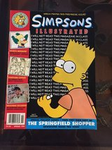 1991 Simpsons Illustrated Magazine- Premiere Issue in Bolingbrook, Illinois