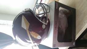 Authentic Classic 1960's Era Washington Redskins Helmet in Lemoore NAS, California