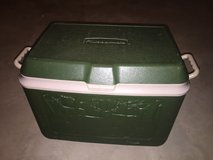 Green cooler in Naperville, Illinois